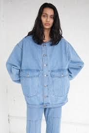 Light Jean Jacket 69 Jean Jacket In Medium Light Denim Garmentory
