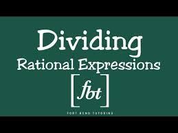 rational expressions by fort bend tutoring fbt nhltv