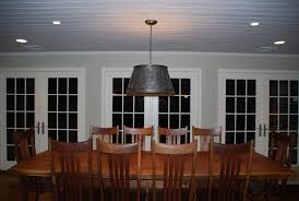 Chandelier Or Semiflush Lighting Over Kitchen Table - Kitchen table light