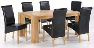 solid oak table with 6 chairs dining table 6 chairs 19 taunton rustic brushed solid oak set 4ft
