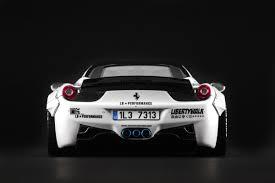 Ferrari 458 Black And White - ferrari 458 italia liberty walk modelcarbeasts com