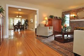 brown color vinyl flooring looks like wood for old living and