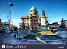 hull city hall kingston upon hull united kingdom uk england town
