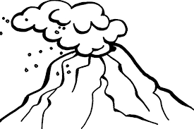 coloring pages volcano volcano coloring pages to clipart panda free clipart images