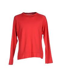 haus golden goose men jumpers and sweatshirts red golden goose