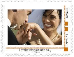 timbre personnalisã mariage timbre personnalise la poste timbre mariage et naissance