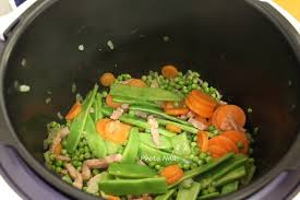 cuisiner des haricots plats jardinière de légumes avec haricots plats cookeo ou pas mamy