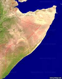 Map Of Somalia Primap National Maps