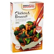 entree cuisine innovasian cuisine chicken broccoli family style entree kit 18