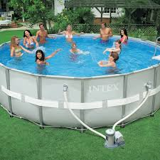 Intex Metal Frame Swimming Pools Metal Frame Pools Above Ground Pools Intex Pools Ultra Frame