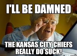 Broncos Suck Meme - it is chiefs week dip s the orange mane a denver broncos fan