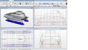Woodworking Plans Software by Diy Catamaran Design Boat Design Net