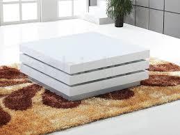 table basse move carrée blanc laqué chez mobistoxx