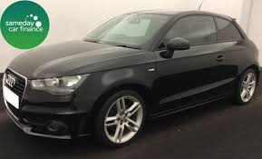 audi a1 s line tfsi from 195 39 per month black 2011 audi a1 1 4 tfsi s line 3 door
