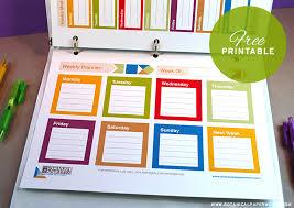free printable 2014 weekly planners blog botanical paperworks