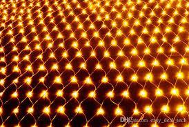 amber mini led christmas lights 2018 3x2m fishing nets led christmas lights 204 leds 7 colours to