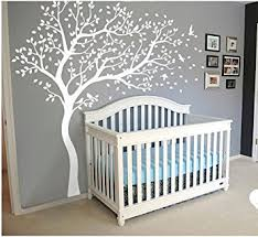 Cherry Blossom Tree Wall Decal For Nursery Wall Decoration Wall Mural Vinyl Wall Decal Tree