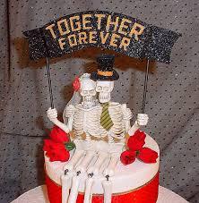 skeleton wedding cake toppers skeleton wedding cake toppers