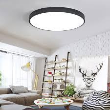 deckenle esszimmer ultradünne moderne led deckenleuchte runde einfache dekoration