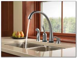 Delta Touch Faucet Red Light Delta Touch Faucet No Light Sinks And Faucets Home Design