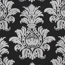 silver pineapple on black gift wrap handmade wrapping paper