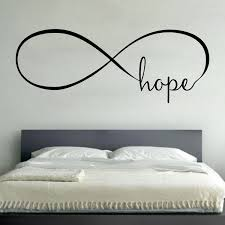 infinity wall vinyl decal sticker family kids room