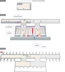 Airport Terminal Floor Plans by Shanghai Pudong International Airport Arrivals And Departures