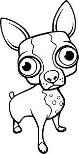 Coloriage Chihuahua à imprimer sur COLORIAGES info