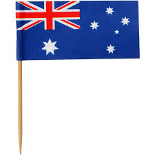 Austrslia Flag Australia Day Toothpicks Big W