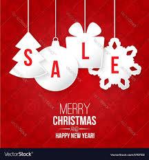 christmas sale royalty free vector image vectorstock