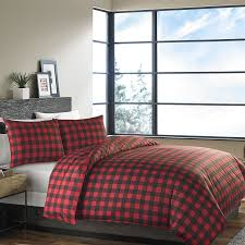 amazon com eddie bauer 210707 mountain plaid duvet cover set