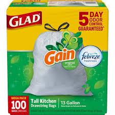 amazon trash bags health u0026 household tall kitchen bags