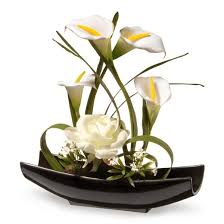 white calla 11 white and calla flowers national tree company target
