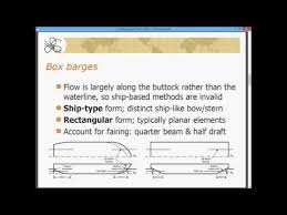 Barge Draft Tables Power Barges