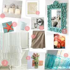 Turquoise Bathroom Accessories by Coral Bathroom Bathroom Ideas Bathroom Decor Coral And