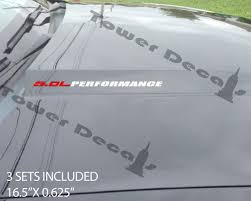 Ford F150 Truck Decals - 5 0l performance ford mustang ford f150 vinyl decals coyote 150