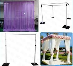 wedding backdrop kits sale 93 best pipe and drape system images on pipe and drape