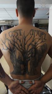 back lost and tree tattoos book 65 000