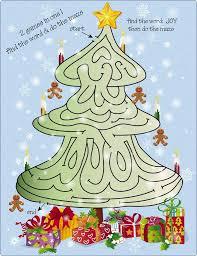 tree maze puzzle 1 stock vector candywrap 9725320