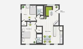 Two Bed Two Bath Apartment Design District Apartments Design Place Miami Living