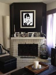 black and white fireplace home decor loversiq