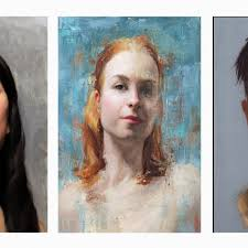 elizabeth zanzinger workshop oil portrait sketch art practical