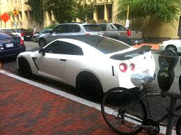 white nissan car matte white nissan gtr r35 gwu cars on campus