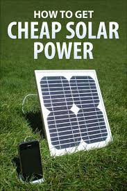 buy your own solar panels how to get cheap solar power