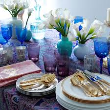 table settings that set high expectations wsj