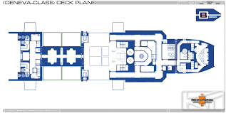 starship floor plan technical illustration by michael