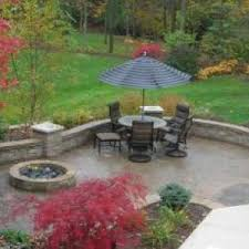 Stamped Concrete Backyard Ideas Walkers Concrete Llc Seating And Retaining Walls
