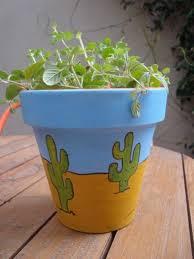 Painting Garden Pots Ideas Paint Creative Flower Pots Ideas Terra Cotta Ideas Pinterest