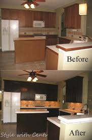 Kitchen Remodel Before And After by 750 Total Kitchen Remodel Sherwin Williams Turkish Coffee Bead