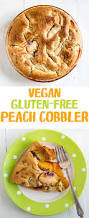 vegan gluten free peach cobbler recipe from fatfree vegan kitchen